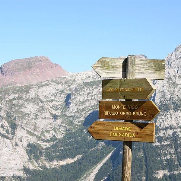 Escursioni montagna Dimaro Folgarida